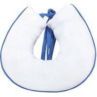Almofada Amamentação Padroeira Baby Tratorista Branco Com Azul