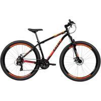 Bicicleta Mtb Caloi Vulcan Aro 29 - Susp Diant - Quadro 17 - Shimano - 21 Vel - Freio A Disco - Unissex