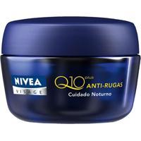 Creme Nivea Visage Antirrugas Q10 Plus Noturno 50G
