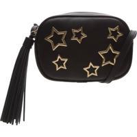 Bolsa Tiracolo Stars Black | Schutz