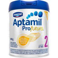 Aptamil Profutura 2 Fórmula Infantil De Seguimento Para Lactentes E Crianças De Primeira Infância A Partir Do 6 Mês Com 800G