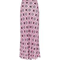 Rixo Kelly Floral Print Maxi Skirt - Rosa