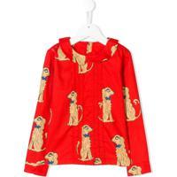 Mini Rodini Spaniels Print Blouse - Vermelho