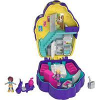 Mini Boneca Com Acessórios - Mini Polly Pocket - Mini Mundo De Aventura - Cafeteria - Mattel