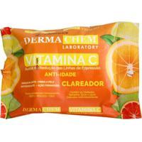 Lenço Demaquilante Vitamina C Dermachem Único Bran