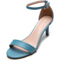 Sandália Via Uno Color Azul