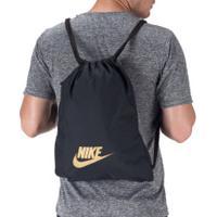 Gym Sack Nike Heritage 2.0 - Preto/Ouro