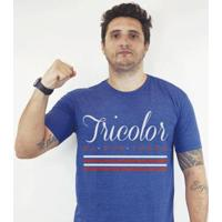 Camiseta Zé Carretilha - Bah - Tricolor -Boa Terra Masculina - Masculino