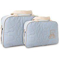 Bolsa Kit 2 Frasqueiras Mel Estampa Urso Mave Baby