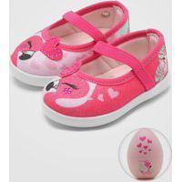 Sapatilha Pampili Flamingo Pink
