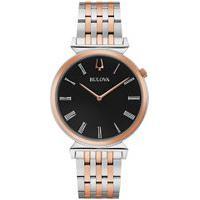 Relógio Bulova Masculino Aço Prateado E Rosé - 98A234