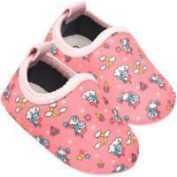 Sapatinho Para Bebê Tico'S Baby Calce Fácil Rosa E Pink Gatinhas