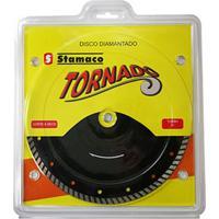 "Disco Corte Mármore Diamantado Stamaco Tornado Turbo, 9"" - 4707"
