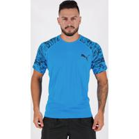 Camiseta Puma Graphic Especial Azul