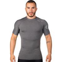 Camiseta De Compressão Térmica Curta Surty Logo Trend Masculina - Masculino