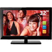 """Tv Cce Led 32"""" D32 Stile - Hdmi - Conversor Integrado - Resolução 1366X768Px"""