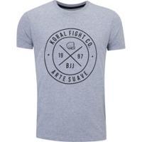 Camiseta Koral Arte Suave - Masculina - Mescla
