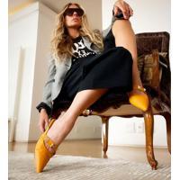 Sapato Feminino Mule Vizzano - 1269142 Amarelo 33