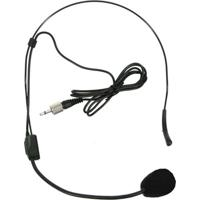 Microfone Headset Karsect Auricular Duplo Kru-220H Preto