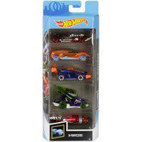 Pack 5 Carrinhos Hot Wheels X-Raycers - Mattel