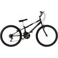 Bicicleta Rebaixada Aro 24 18 Marchas Freios V-Break Fosca Ultra Bikes - Unissex