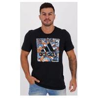 Camiseta Adidas Doodle Bos Preta