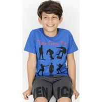 Camiseta Infantil Skate Manga Curta Marisa