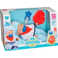 Boneca Bebezinho Real Xixi Menino - Roma