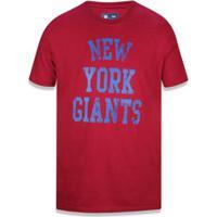 Camiseta New York Giants Nfl New Era Masculina - Masculino
