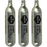 Kit 03 Cápsulas De Co2 Swiss Arms Descartável Unitário 12G - Unissex-Prata