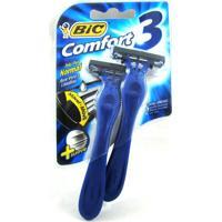 Aparelho De Barbear Bic Comfort 3 Pele Normal C/ 02 Unidade