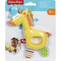 Fisher Price Safári De Mordedores Girafa - Mattel