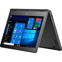 """Tablet Multilaser Nb258 Com Teclado, Tela De 11,6"""", Processador Intel Quad Core, 32Gb De Memória, Windows 10, Wi-Fi - Cinza"""