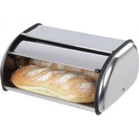 Porta Pão Basculante Em Inox Alto Brilho - Porta Pão