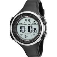 Kit De Relógio Digital Speedo Masculino + Carregador Portátil - 81194G0Evnp2Ka Preto
