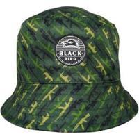 Chapéu Bucket Hats Black Bird Thb 48V Masculino - Masculino