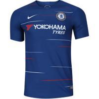 Camisa Chelsea I 18/19 Nike - Masculina - Azul