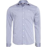 Camisa Masculina Social Pois - Cinza 075d39a7d8