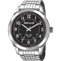 Relógio Seculus Masculino 23644G0Svna1