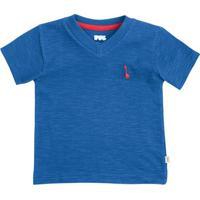 Camiseta Bebê Menino Com Decote V