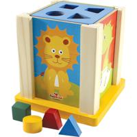 Brinquedo Educativo Caixa Duo Atividades Ciabrink Colorido