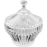 Bomboniere De Cristal Slits Artex - Tamanho Unico - Transparente