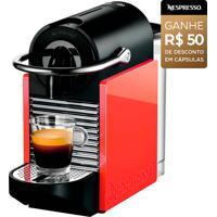 Máquina De Café Nespresso Pixie Clips: Personalizável Ao Seu Estilo, Com 2 Pares De Painéis Trocáveis; 19 Bar De Pressão; Desligamento Automático
