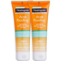 Kit 2 Esfoliantes Neutrogena Acne Proofing 100G Incolor