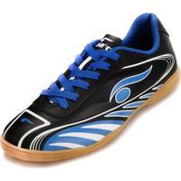Chuteira Futsal Dsix 6203 Preto/Azul