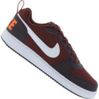 Tênis Nike Court Borough Low - Masculino - Vinho/Roxo