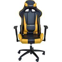 Cadeira Office Pro Gamer V2- Amarela & Preta- 135X72Rivatti