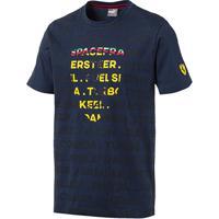 Camiseta Puma Ferrari Big Shield Masculina - Masculino