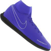 Chuteira Futsal Nike Phantom Vivsn Club Df Ic - Adulto - Azul Preto 39d4e8ad1eebe