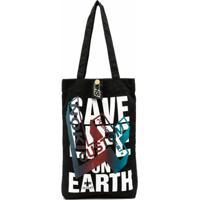 Katharine Hamnett London Save Life On Earth Tote - Preto